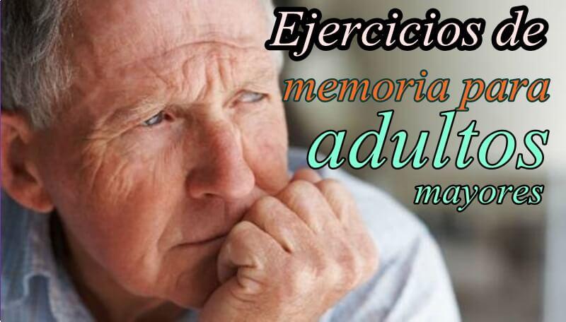 Coleccion De Ejercicios De Memoria Para Adultos Mayores Portal De
