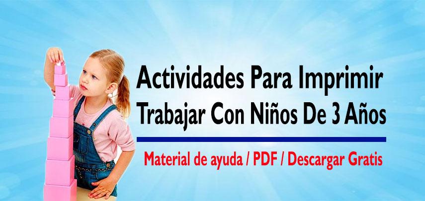 Actividades para ni os de 3 a 4 a os portal de educaci n for Actividades pedagogicas para ninos de 2 a 3 anos