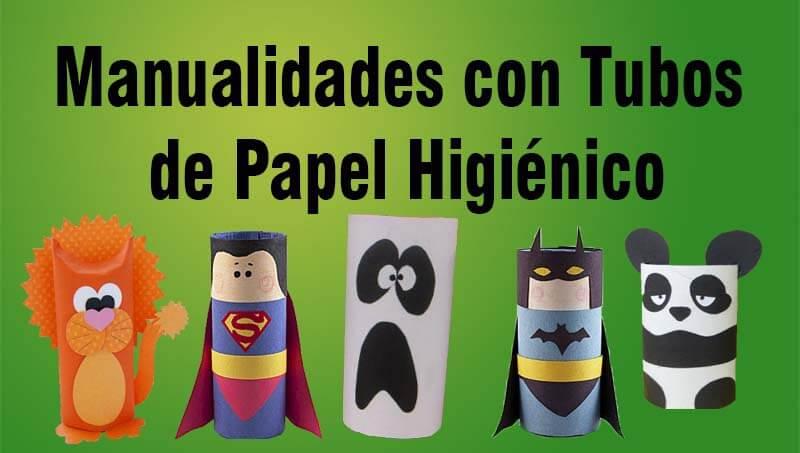 Manualidades con tubos de papel higi nico portal de educaci n - Manualidades rollos de papel higienico ...