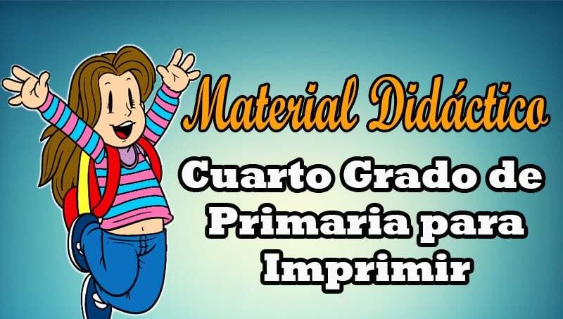 Material did ctico para cuarto grado de primaria portal for Cuarto primaria