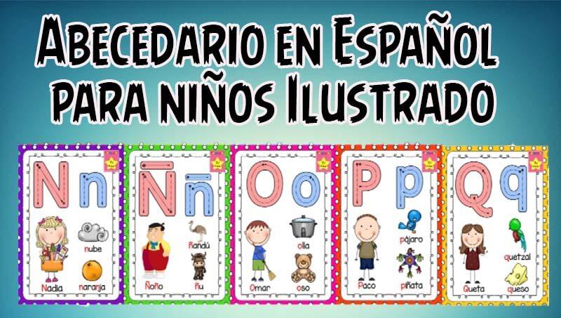 Abecedario En Español Para Niños ILUSTRADO