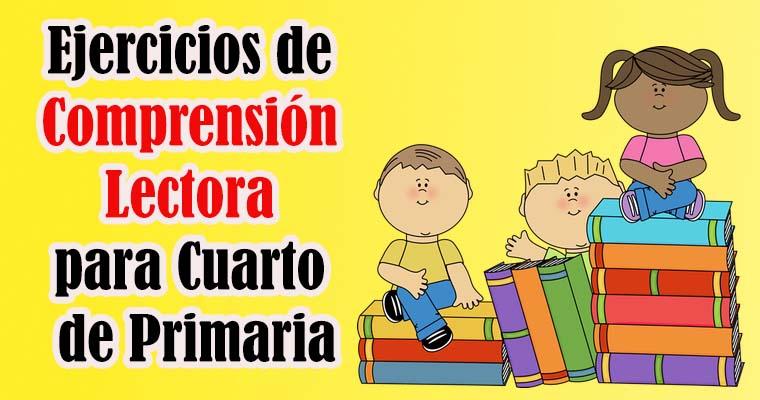 Cuarto De Primaria | Ejercicios De Comprension Lectora Para Cuarto De Primaria Portal