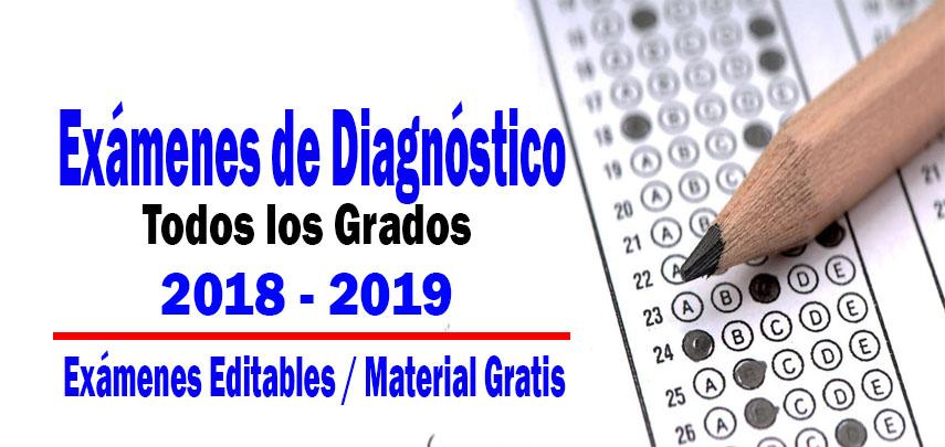 Ex 225 Menes De Diagn 243 Stico De Todos Los Grados 2018 2019