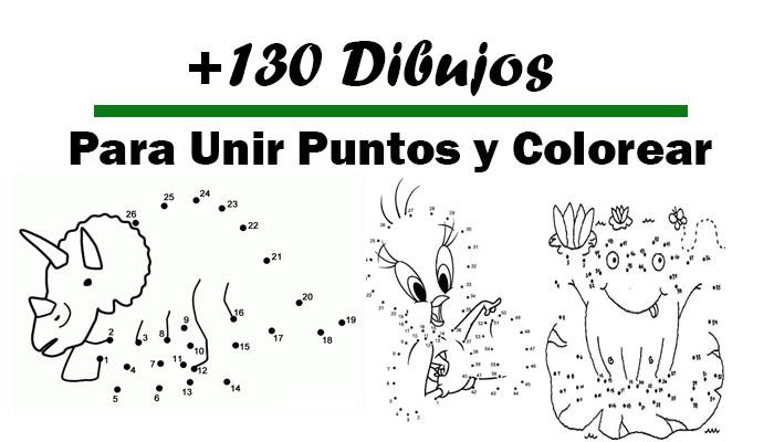 Numeros Para Colorear En Linea Fichas Para Unir Puntos Y: Descargar 130 Dibujos Para Unir Puntos Y Colorear